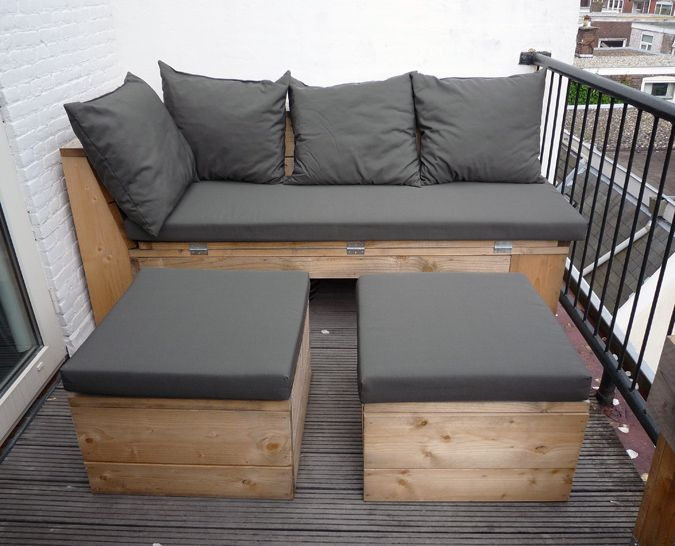 Lounge set design garten diy best modern outdoor lounge for Balkon lounge set