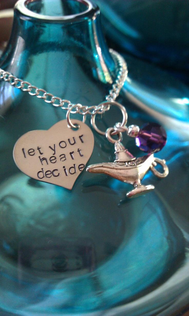 Princess Jasmine Disney Inspired Necklace by LoBabyJewelry.