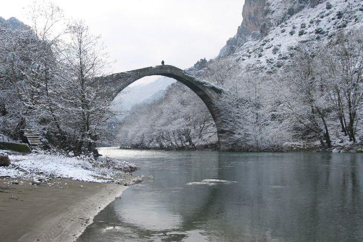 Stone bridge of Konitsa / Γεφύρι Κόνιτσας