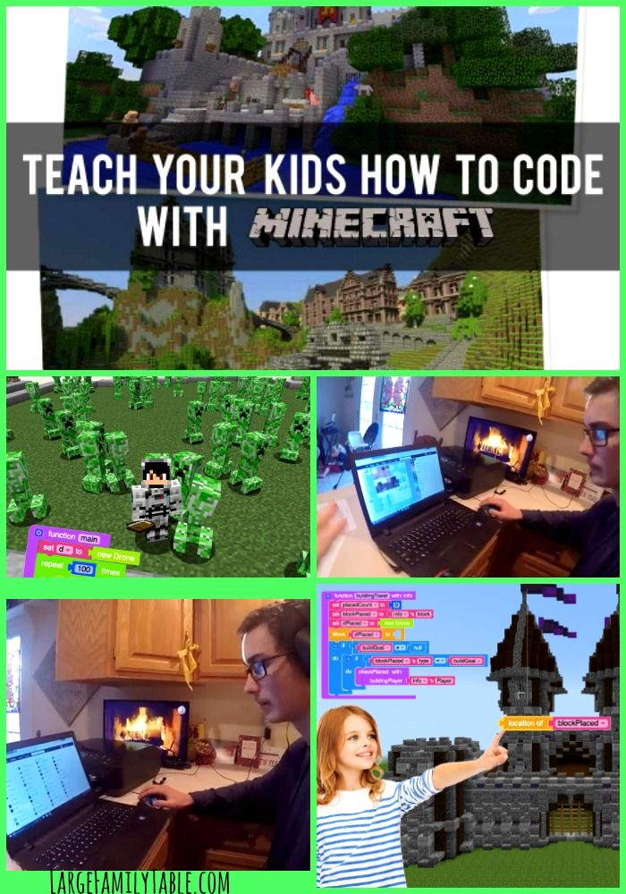 5129 best free homeschool deals images on pinterest homeschooling teach your kids how to code with a minecraft course that can be purchased through sponsor fandeluxe Gallery