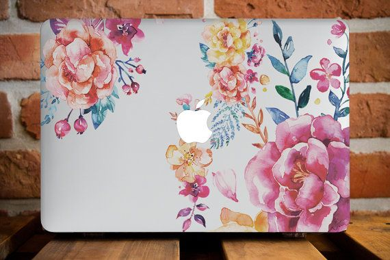 Floral Garden MacBook Air 13 Case Macbook par CreativeMacBookCases