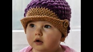 HOW TO CROCHET A PANAMA HAT - YouTube
