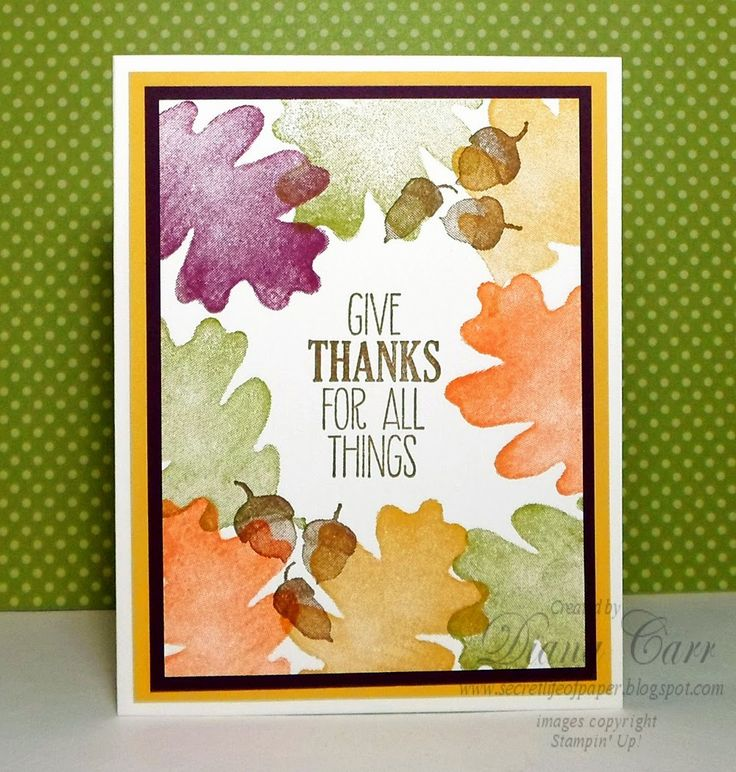 Stampin' Up! For All Things Card