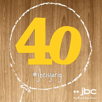 JBC blaast 40 kaarsjes uit! Iedereen mag zich aan gekke acties en leuke collecties verwachten!