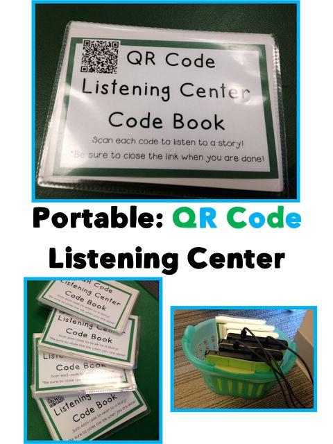Portable QR Code Listening Center