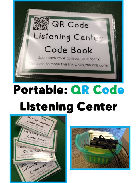 Portable QR Code Listening Center