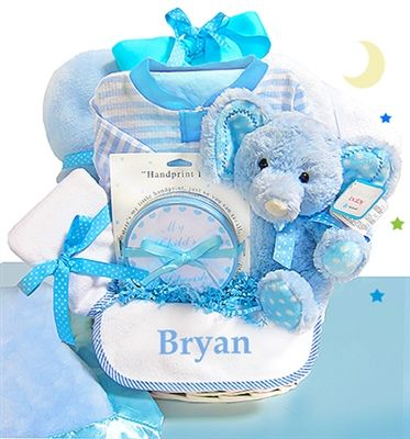 30 best personalized baby gifts images on pinterest personalized boys minky dots personalized gift basket by baby gifts n treasures negle Gallery