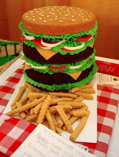Cake Burger