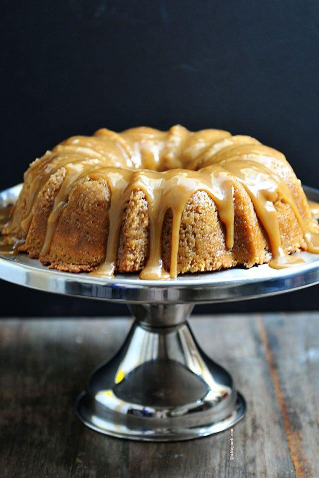 Brown sugar bunt cake.