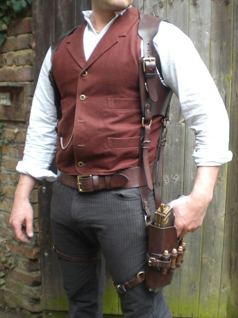 Steampunk holster
