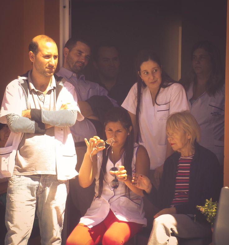 """Centro de Día de Salud Mental Alicia """"Tita"""" Brivio. Cierre de año con la muestra de las actividades y talleres, con la presencia de los pacientes, familiares, profesionales y autoridades municipales."""