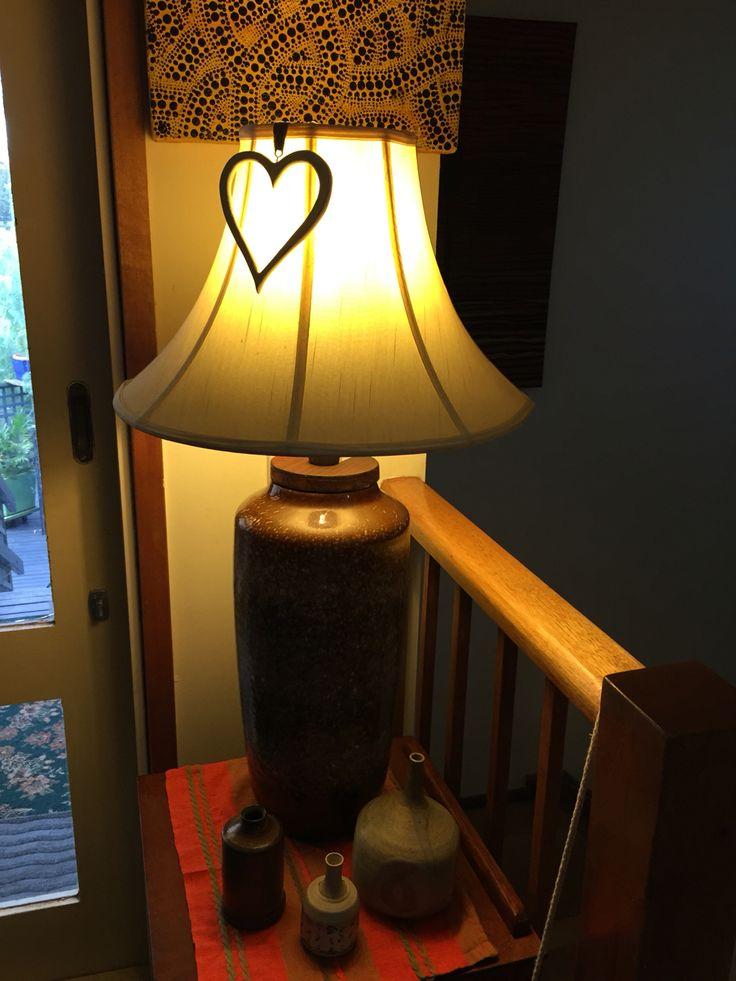 Fat lava vase - as a lamp