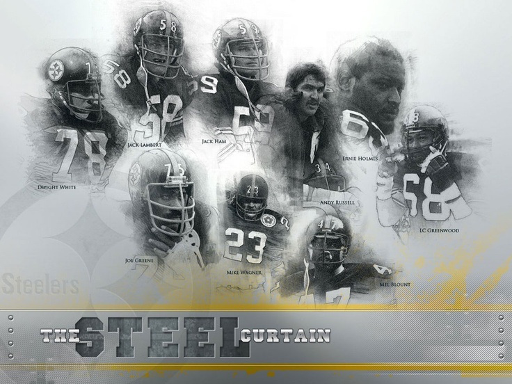 Pittsburgh Steelers Iron Curtain Defense Homedesignview Co