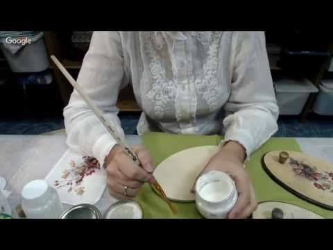 Алевтина Заричная Панно вешалка Шиповник - YouTube