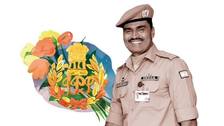"‪#‎Rotary‬ Promoting PEACE- INDIA "" Sachin Rane"" Mumbai police officer - He never imagined how far police work would take him, he was fascinated by the job description and the opportunity to work Internationally."