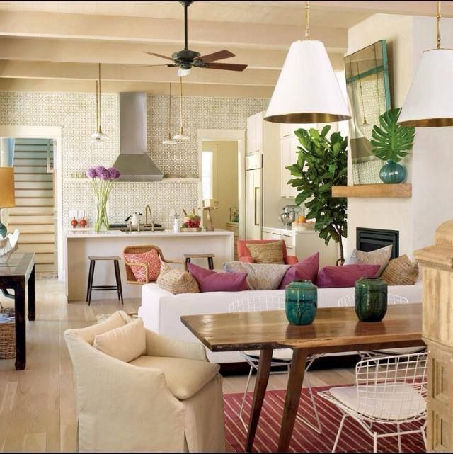 Kitchen Living Room Combo: 52 Best Kitchen Living Room Combo Images On Pinterest