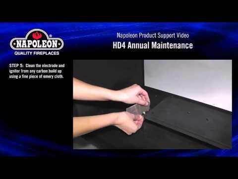 Electric Ignition Fireplace Annual Maintenance Tutorial