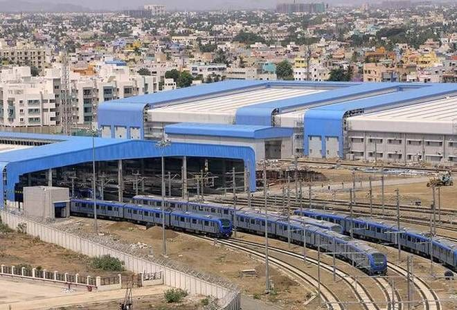 Chennai Metro Rail to implement solar street lights in some of the stations in order to reduce the power consumption. #CityUpdates www.chennaiungalkaiyil.com.