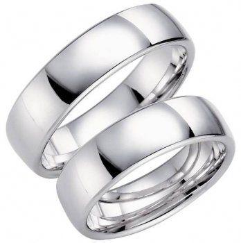 Förlovningsringar, vitguld ifrån Schalins.
