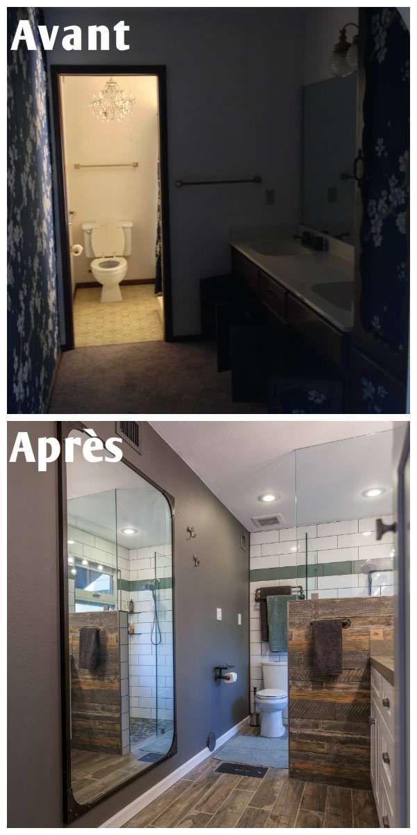 Rénovation Du0027une Salle De Bain à La Décoration Classique.21 Idées  Inspirantes Pour