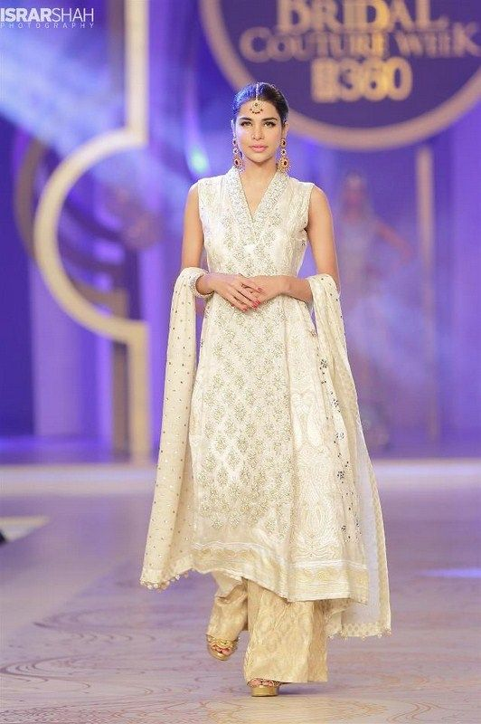 Sana Abbas Bridal Collection At Pantene Bridal Couture Week 2013 Pinned by Zartashia