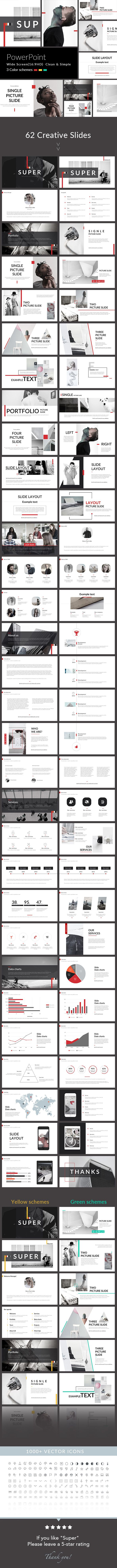 Super - PowerPoint Presentation Template. Download here…