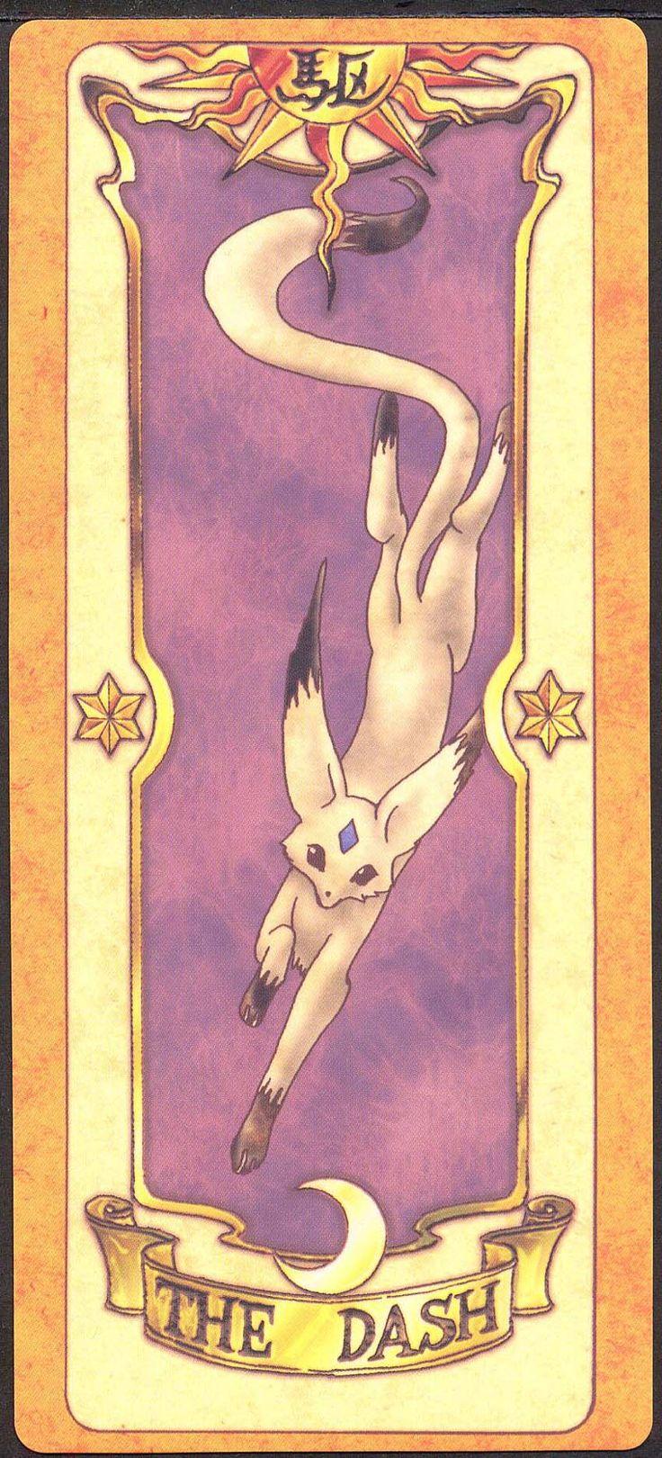 The Dash (Corrida) - A carta Corrida, obviamente, corre rápido. Entretanto, ela se cansa com facilidade. Ela tem a forma de um animal parecido com uma raposa.