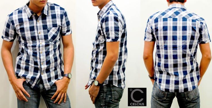 Celcius Shirt    Color : Grey, Red, Green    Size : S,M,L,XL