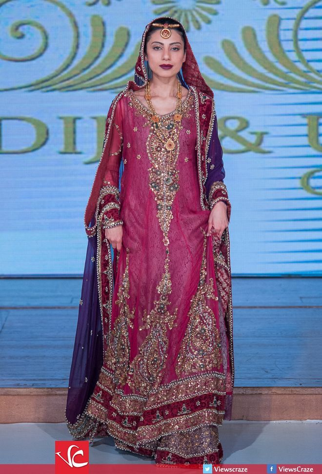 Khadija and Obaid's Collection at Pakistan Fashion Week 8 London 2015 (PFW8)