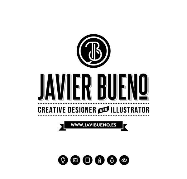 PERSONAL IDENTITY by Javi Bueno, via Behance