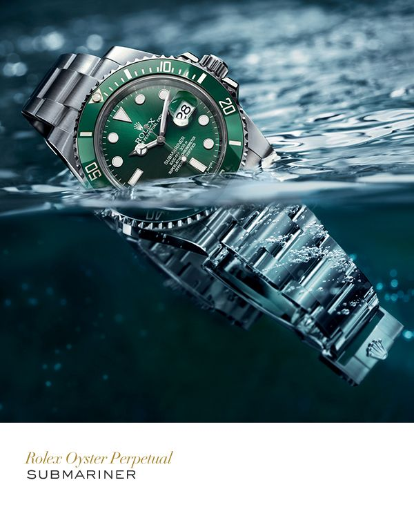In 2010, Rolex introduced a version of the Submariner Date with a green Cerachrom bezel. #Submariner #Exploration #RolexOfficial