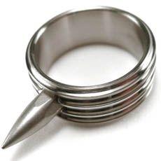 TAD Gear Titanium Rescue Ring. I wish I had mine still. Lost or stolen while down range.