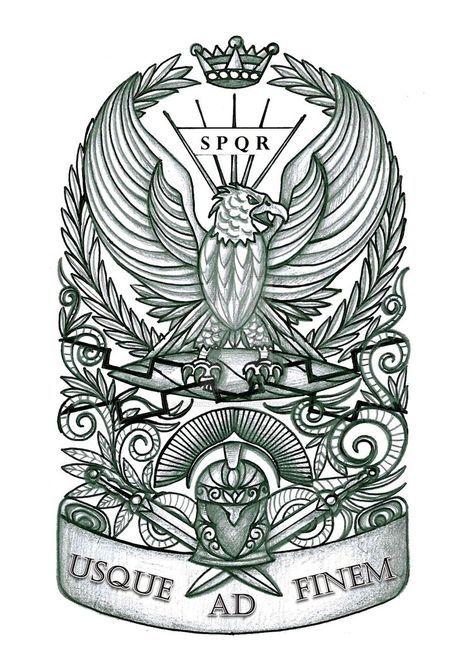 Roman Eagle Tattoo by thehoundofulster on DeviantArt