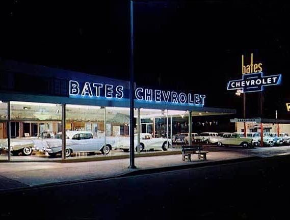 Bates Chevrolet Dealership Woodhaven Michigan 1957 Chevrolet Dealership Chevy Muscle Cars Chevrolet