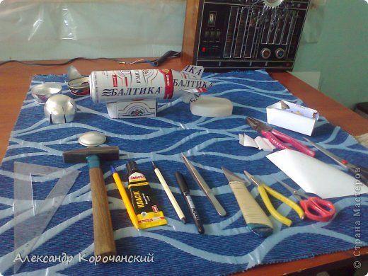 Поделка изделие Моделирование конструирование Алюминиевые банки квиллинг Металл фото 17