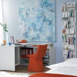 Tipy, jak vměstnat domácí kancelář do malého bytu, foto