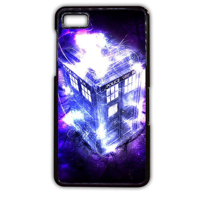 Glowing Police Box Doctor Who TATUM-4733 Blackberry