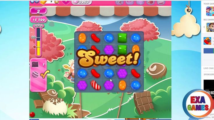 Candy Crash Saga | Hard Level 2063 compleate with last moves