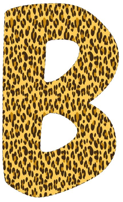 27 best clip art abc animal prints images on pinterest animal rh pinterest com leopard print clipart free leopard print black and white clipart