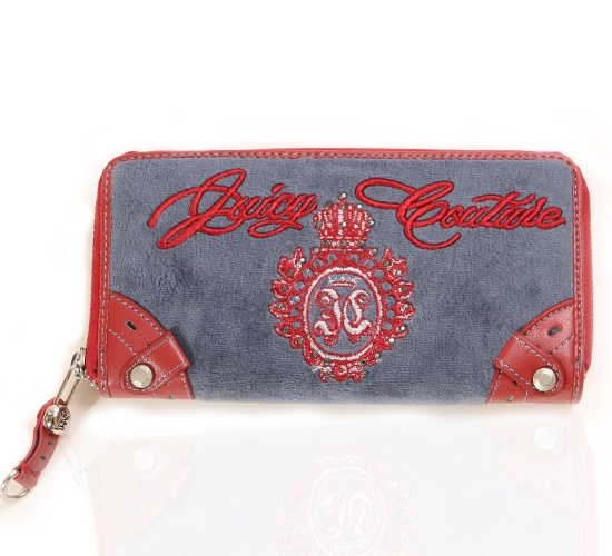 Juicy Couture Red & Blue Purse on glamouronthego.co.uk
