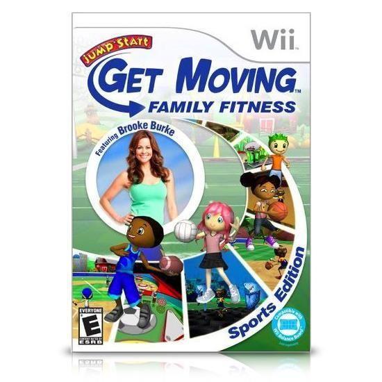 Jumpstart Get Moving Family Fitness Nintendo Wii #nintendowii #videogames