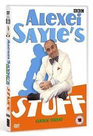 Alexei Sayle's Stuff - Series 3 (DVD) ~ VERY GOOD CONDITION ~ FREE UK POST - R 2