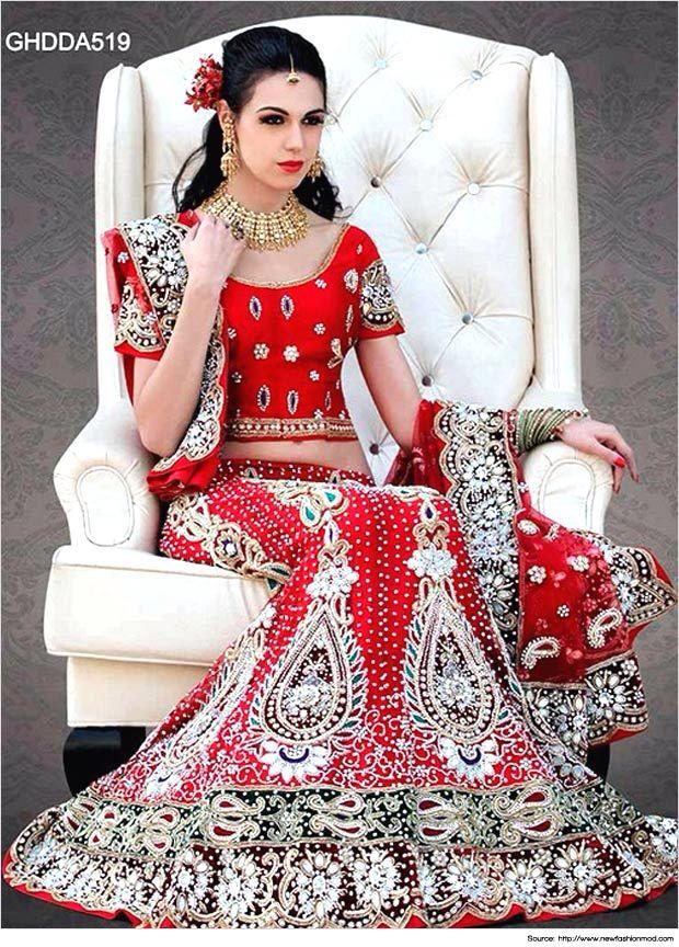 Mejores 12 imágenes de Indian bridal Wear en Pinterest | Trajes de ...