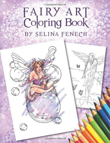 35 best Fairy Adult Coloring Books images on Pinterest   Coloring ...