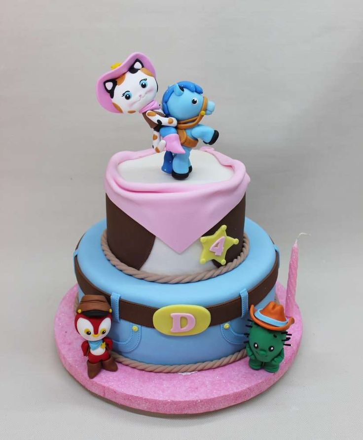 Sheriff Callie birthday party cake! See more party planning ideas at CatchMyParty.com!