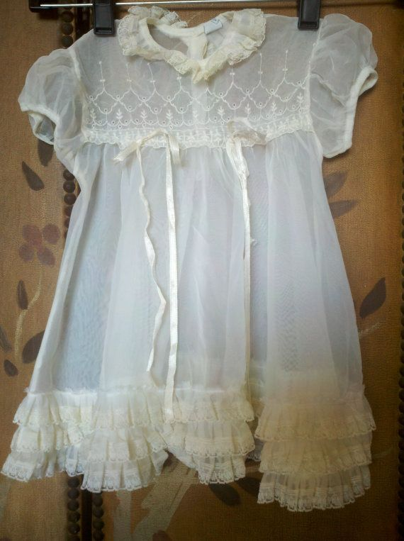 Vintage baby clothes make me swoon. . .