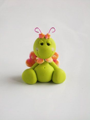 Lovely cute butterfly Bug. $15.00, via Etsy.