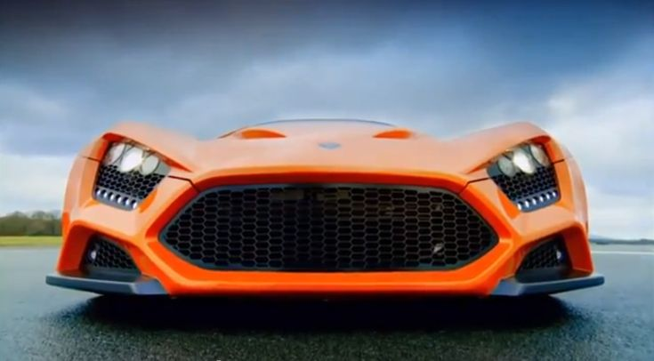 Zenvo ST1 Burns Rubber, And Itself, On #TopGear! Click to view the astonishing video!