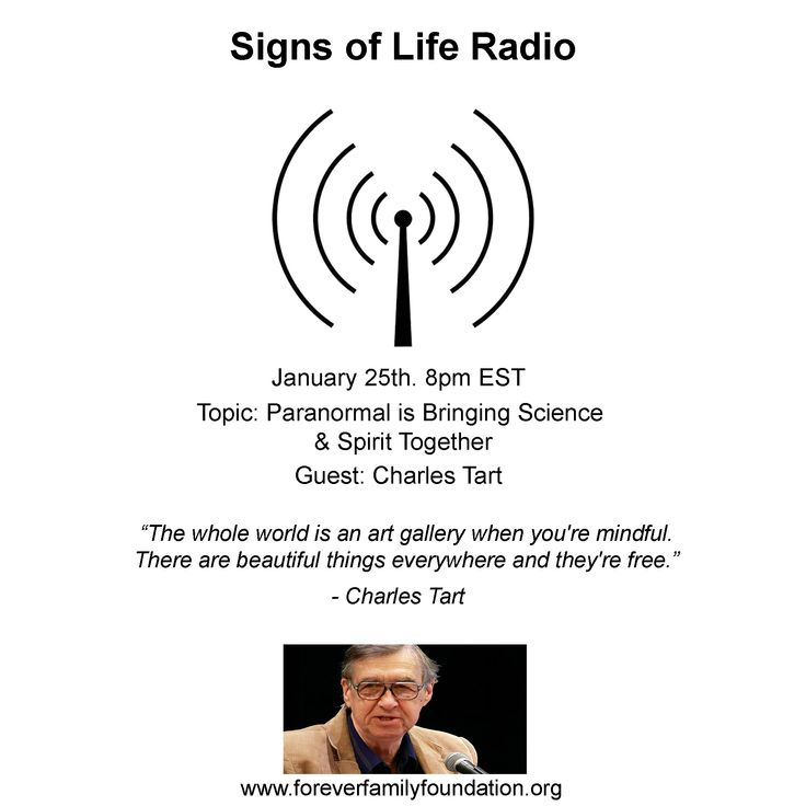 #grief #grieving #lossoflovedone #paranormal #parapsychology  Charles Tart, a top Parapsychologist and Psychologist who has dedicated himself to the in-depth study of consciousness. He has written many books, including textbooks, has worked on conducting OBE (Out of Body) experiments, and is considered one of the best in his field.