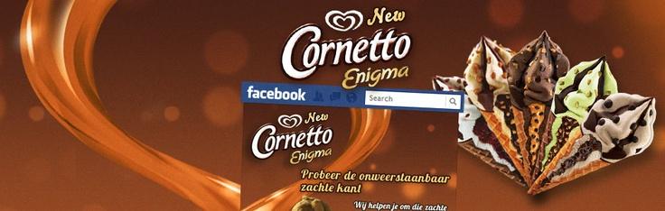 Cornetto Facebookpage